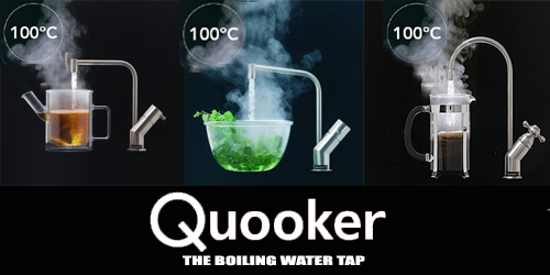Quooker boiling water tap