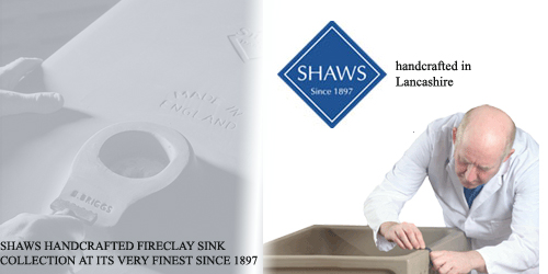 Shaws hand made ceramic sinks