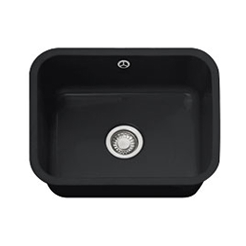 franke vbk 110 50 undermount ceramic black sink