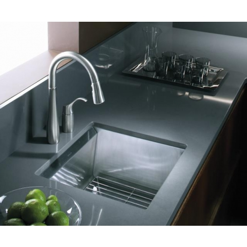 Kohler 8 Degree 3671 Single Bowl Stainless Steel