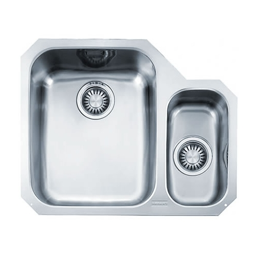 Franke Double Sink Undermount : Franke ARIANE ARX 160 Undermount Stainless Steel Double Bowl Sink