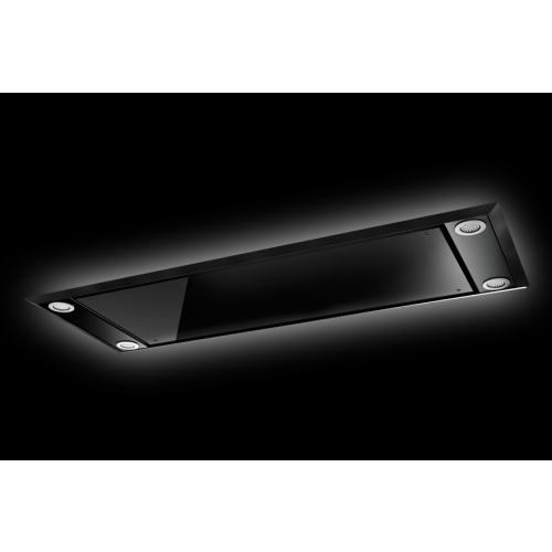 Ceiling Mounted Extractor Fan >> Westin Stratus Vetro Ceiling Mounted Extractor Hood with LED Lighting requires External Motor ...