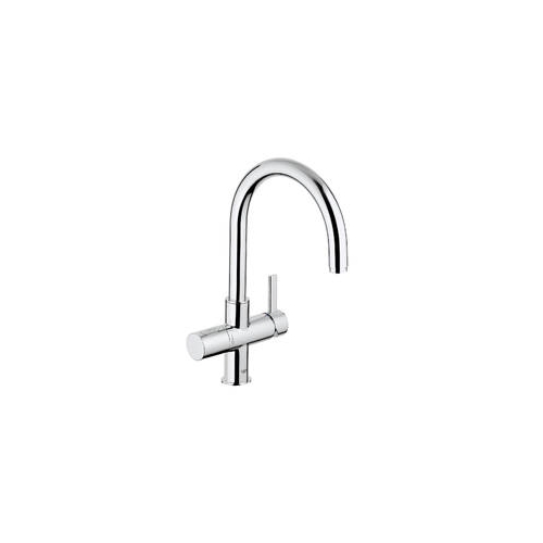 grohe blue pure mixer and cold filter tap with swivel 39 c. Black Bedroom Furniture Sets. Home Design Ideas