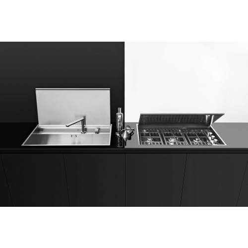 Barazza 1llb90 Lab Built In And Flush Sink With Cover And