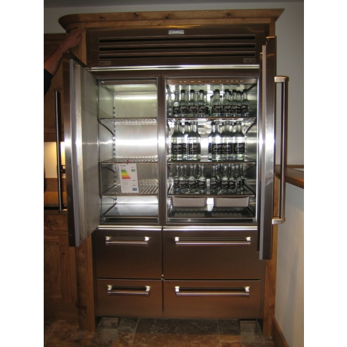 Subzero Professional Side By Side Fridge Freezer With Ice