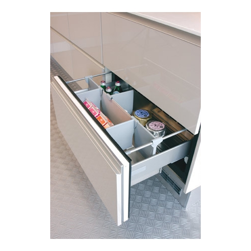 Norcool fully integrated drawer fridge 0516260010 - Integrated freezer ...