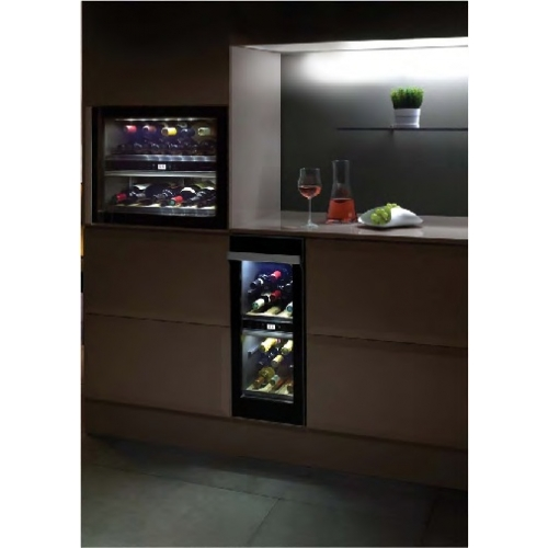 Norcool Cave 20 Bi Dual Zone Built In Wine Cooler Cave20bi