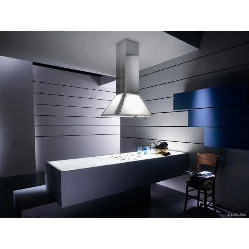 Elica Light Pyramid Island Lightcubeisland Cooker Hoods