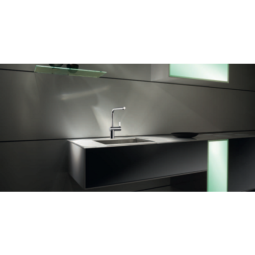 KWC LIVELLO Single Lever Monobloc Tap with Pull-out Spout 10231103 ...