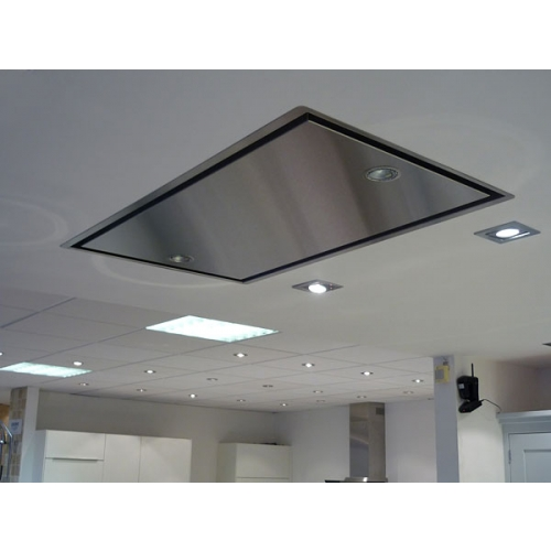 Kitchen Ceiling Extractor Exhaust Fan : Abk neerim ceiling mounted extractor hood external motor