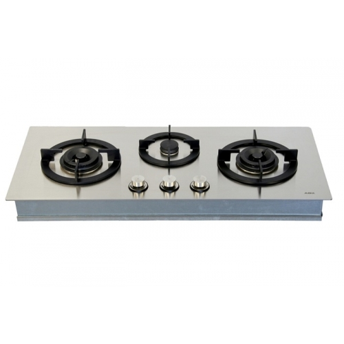 Abk Koonaka Kpg0302 3 Burner Gas Cooktop Flush Fit Kpg0302