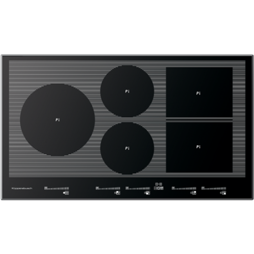 kuppersbusch eki 9852 1 f 90cm 5 zone induction hob. Black Bedroom Furniture Sets. Home Design Ideas